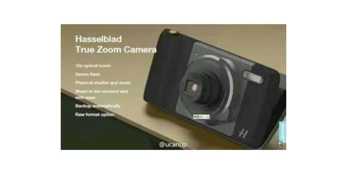 More Hasselblad MotoMod Camera Info