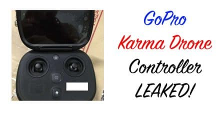 GoPro Karma Drone Controller Leaked?