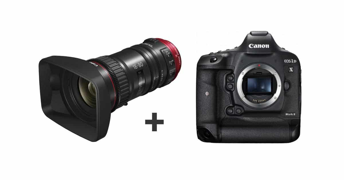 Canon CN-E 18-80 Will Work with 1D X Mark II