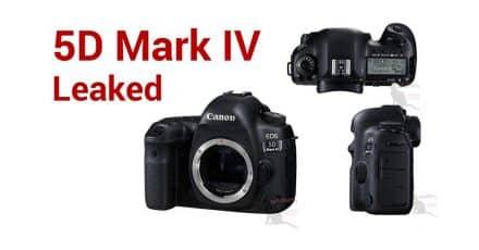 Canon 5D Mark IV Leak! DETAILED PHOTOS + Specs
