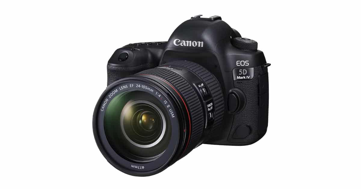 Canon Announces EOS 5D Mark IV