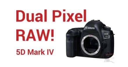 Canon's New Secret Weapon – Dual Pixel RAW!!