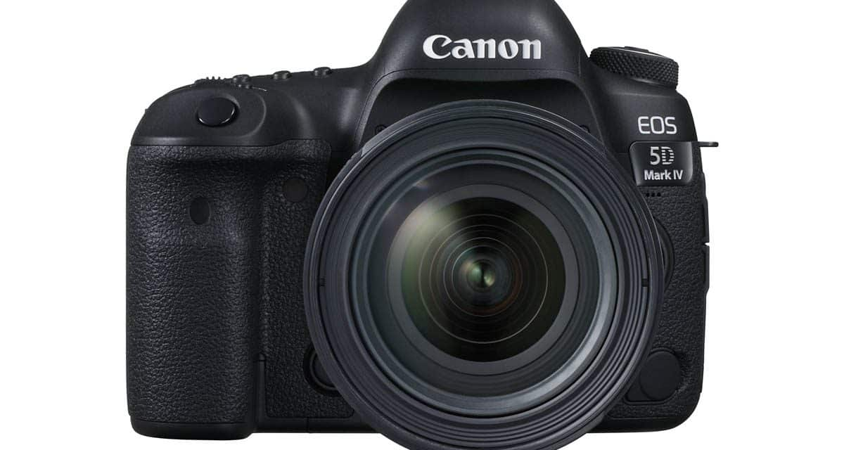 Canon EOS 5D Mark IV Black Friday Deals!