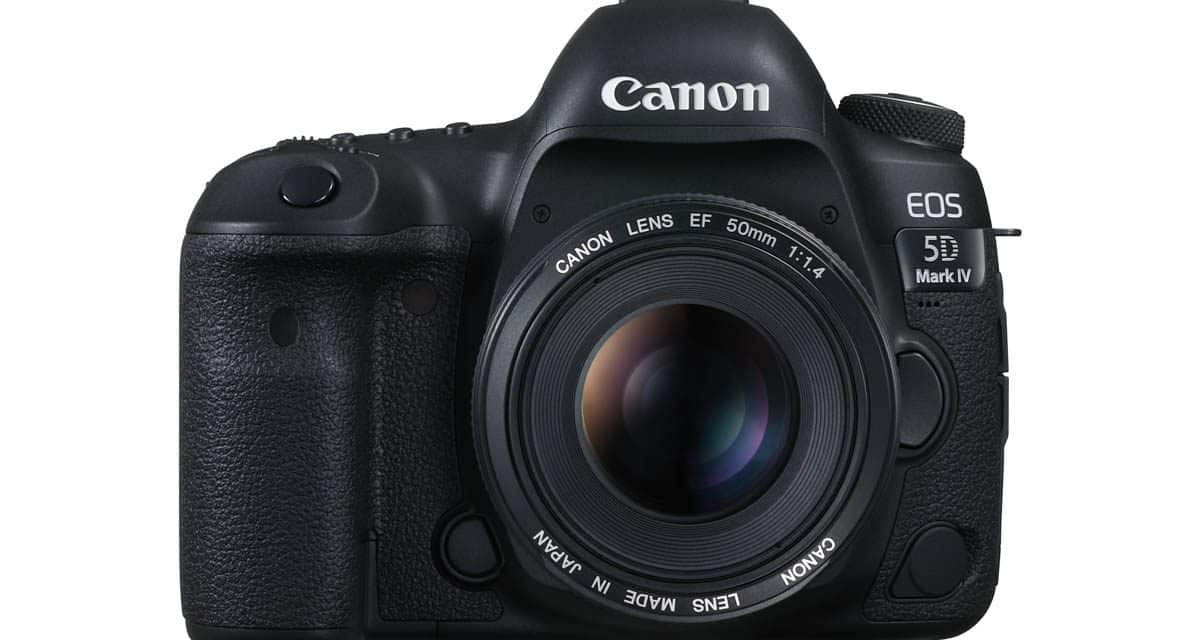 Canon EOS 5D Mark IV may get Firmware Update Next Week