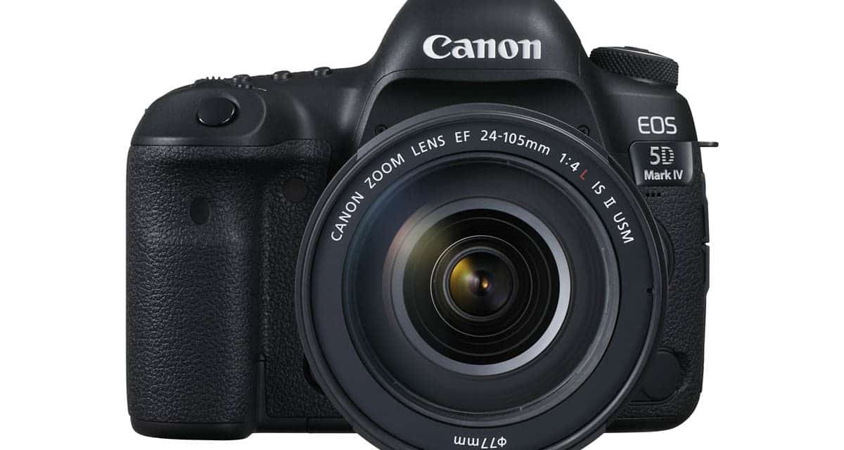 Canon EOS 5D Mark IV Firmware V1.0.4 Announced