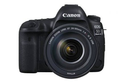 Canon EOS 5D Mark IV Firmware V1.0.4 Announced