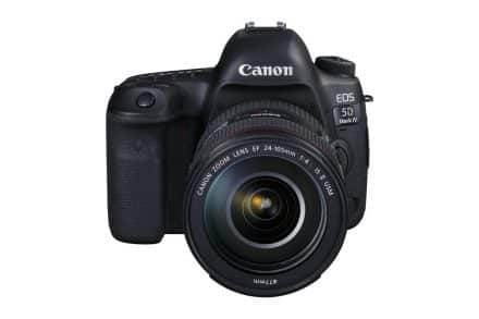 Canon EOS 5D Mark IV Firmware Updated to Version 1.0.2