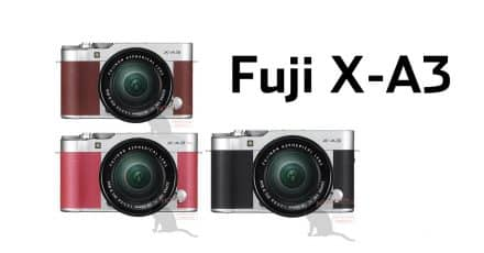 Fuji X-A3 Pictures Appear Online