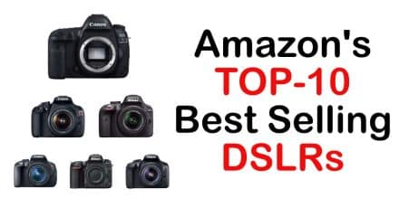 EOS 5D Mark IV Tops Amazon Best-Sellers! Top-10 Inside!