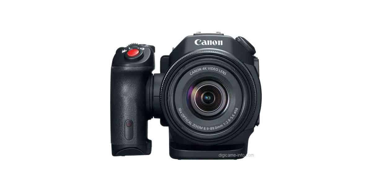 First Images of The Canon XC15 Camcorder Leak