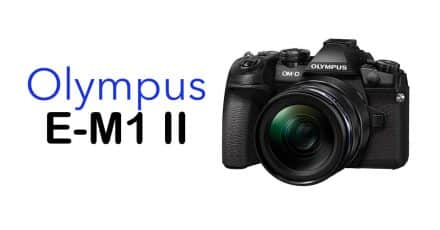 Major Firmware Update for E-M1 II Announced