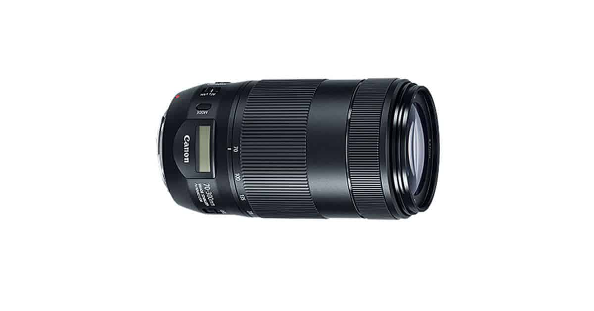 Canon Announces the Canon EF 70-300mm f/4-5.6 IS II USM Lens