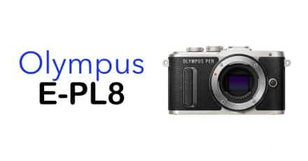 Olympus E-PL8 and new Lenses Available for Pre-Order