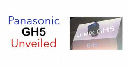 Further Panasonic GH5 Pricing Information