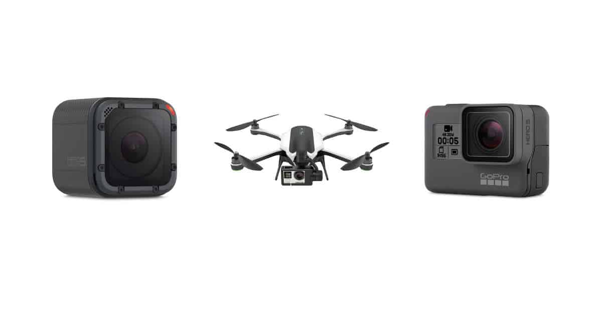 GoPro Announce the Hero5 Session, Hero5 Black and Karma Quadcopter