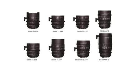 Sigma Announces New Range of Cinema Lenses