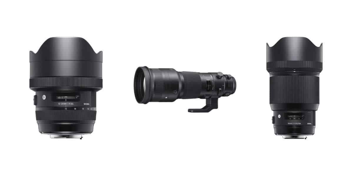 Sigma Announce the 85mm F1.4 DG HSM Art, 12-24mm F4 DG HSM Art, and 500mm F4 DG OS HSM Lenses