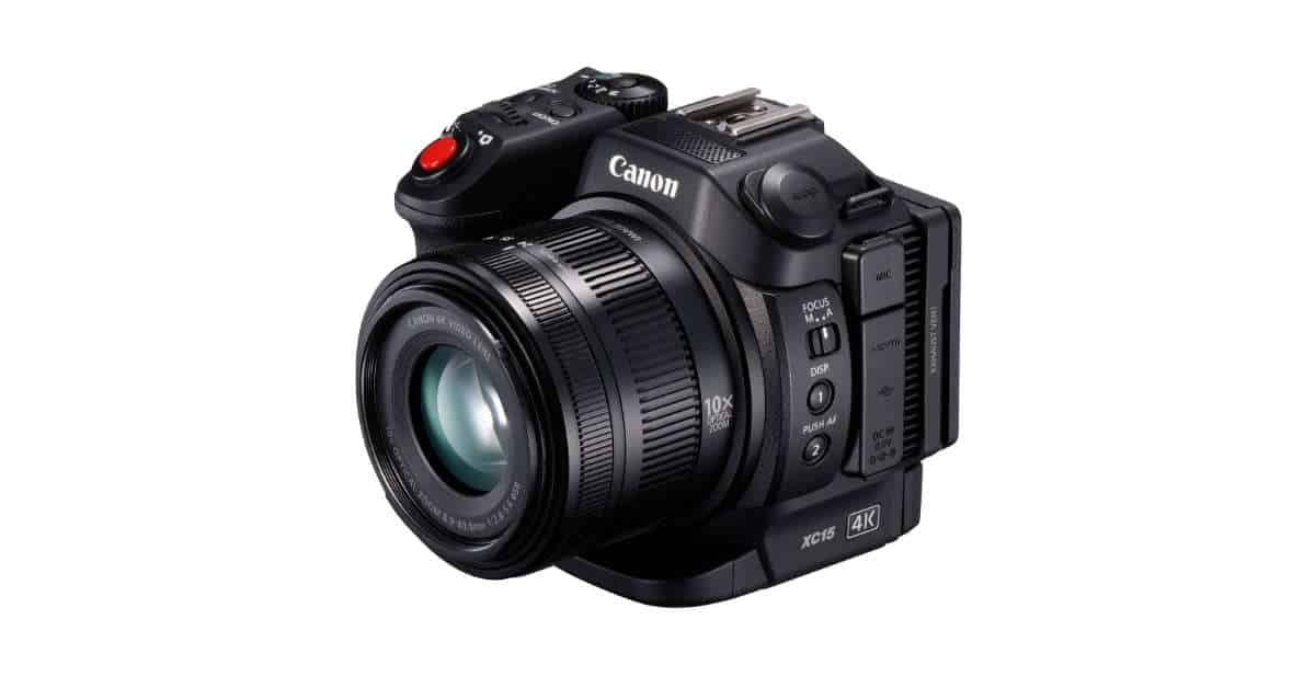 Canon Announces the XC15 4K Professional Camcorder