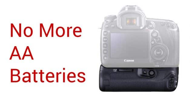 Canon Quietly Stops Allowing AA Battery Usage In Battery Grips (BG-E20)