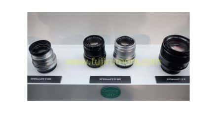 XF 50mm F/2 R WR and XF 80MM F/2.8 R LM OIS WR Macro Spotted at Photokina