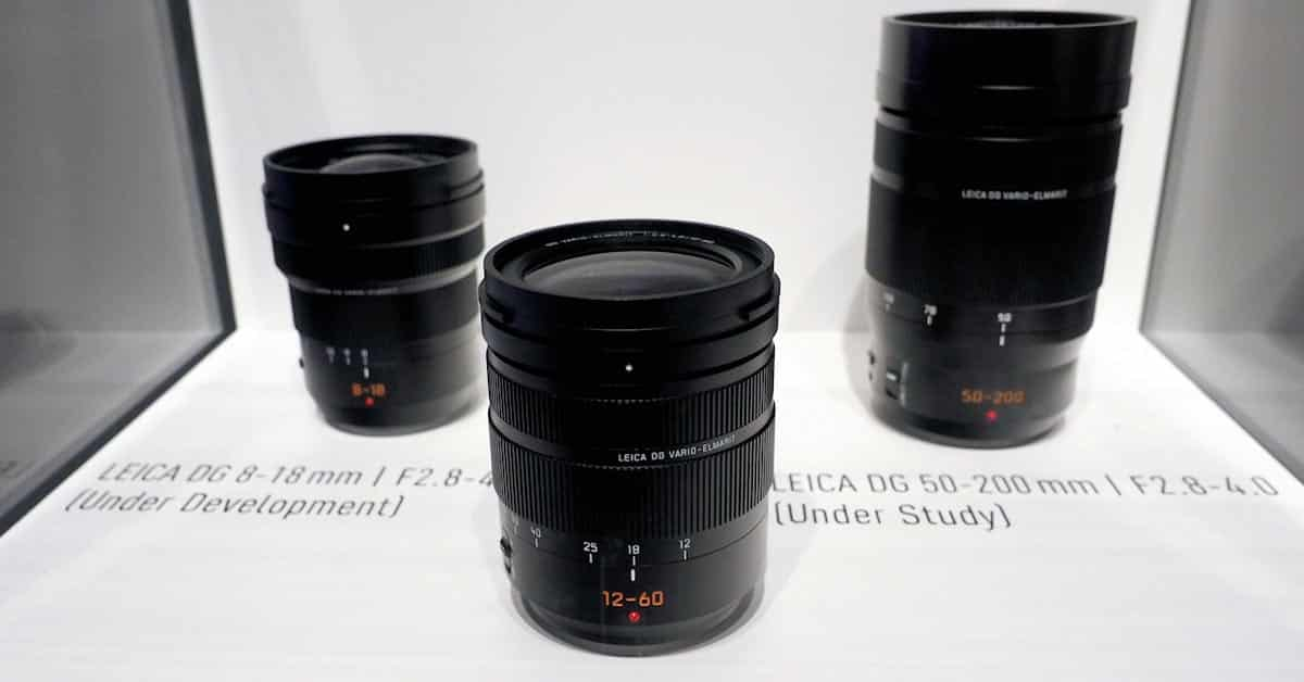 Panasonic Lens Roadmap for 2016-2017