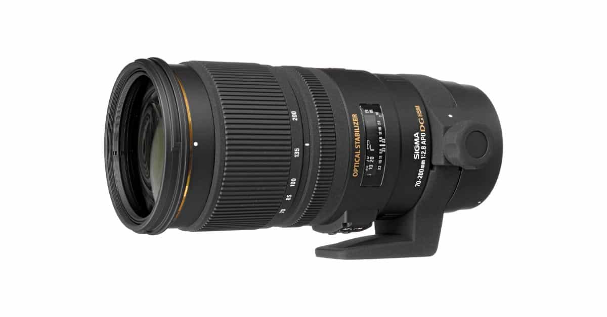 Sigma Patents New 70-200 f/2.8 HS S SPORT Lens