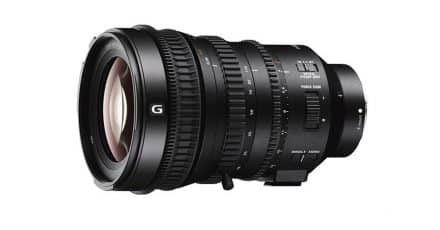 Sony Launches New E-Mount Cine Zoom – PZ 18-110mm F4 G OSS