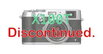 Fuji Discontinues the X100T, X100F coming early 2017