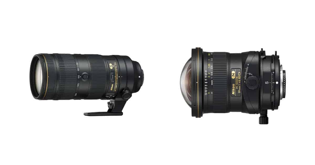 Nikon Announces the PC NIKKOR 19mm f/4E ED and AF-S NIKKOR 70-200mm f/2.8E FL ED VR