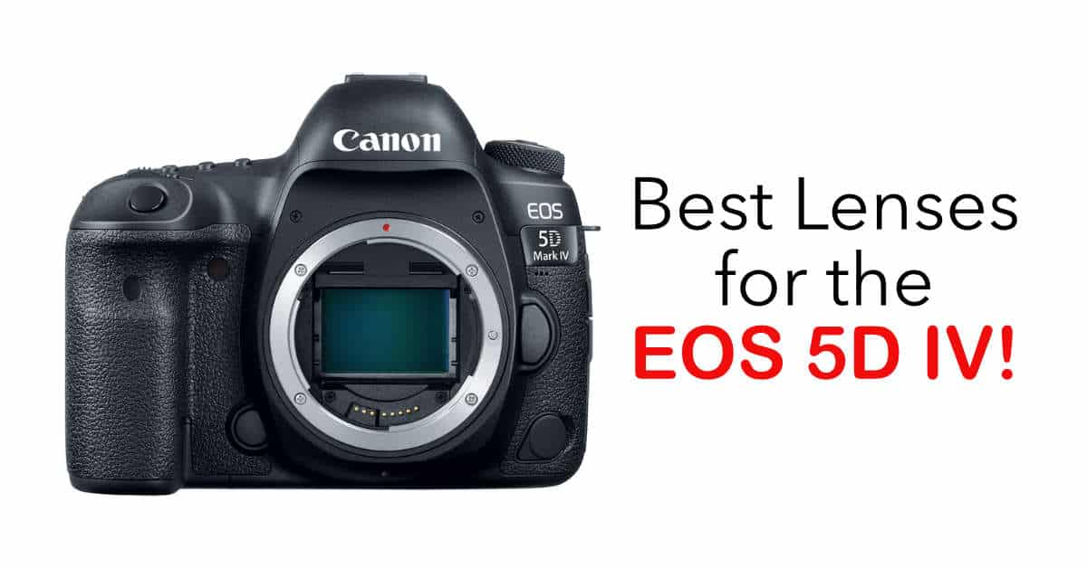 DXOMark Recommends the Best Lenses for the Canon EOS 5D Mark IV