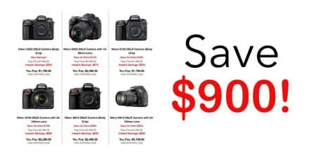 New Nikon Rebates are Live!