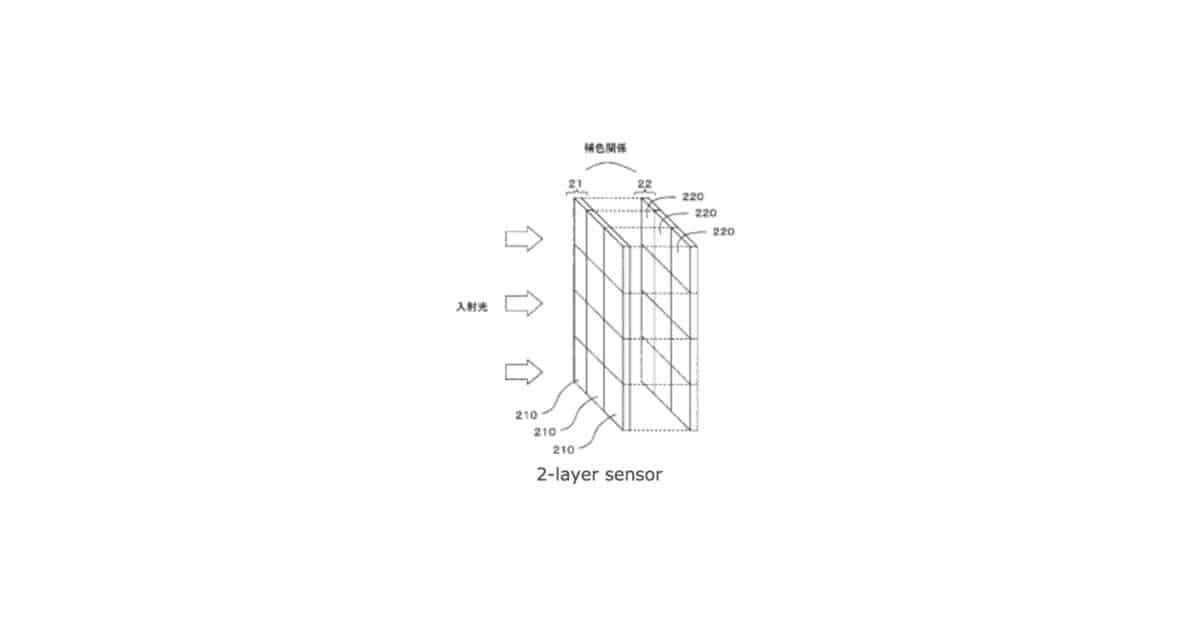 Nikon Patents 2-Layer Sensor