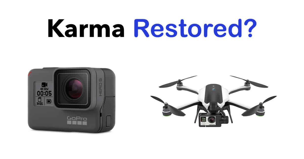 GoPro to Offer Effected Karma Buyers Free Hero5 Black Edition