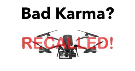 GoPro Recalls Karma Quadcopter