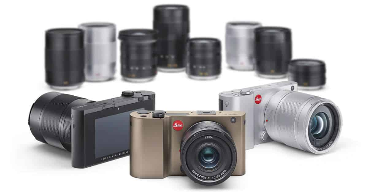 Leica Announce the TL Mirrorless System Camera