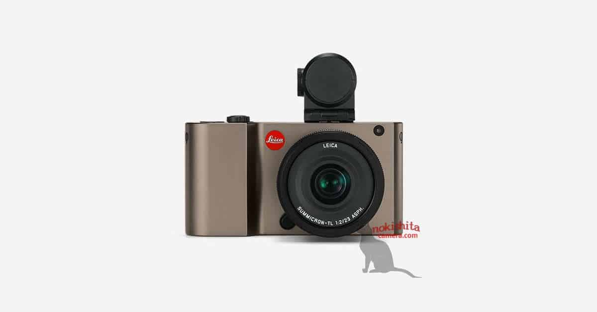 First Image of the Leica TL Leaks!