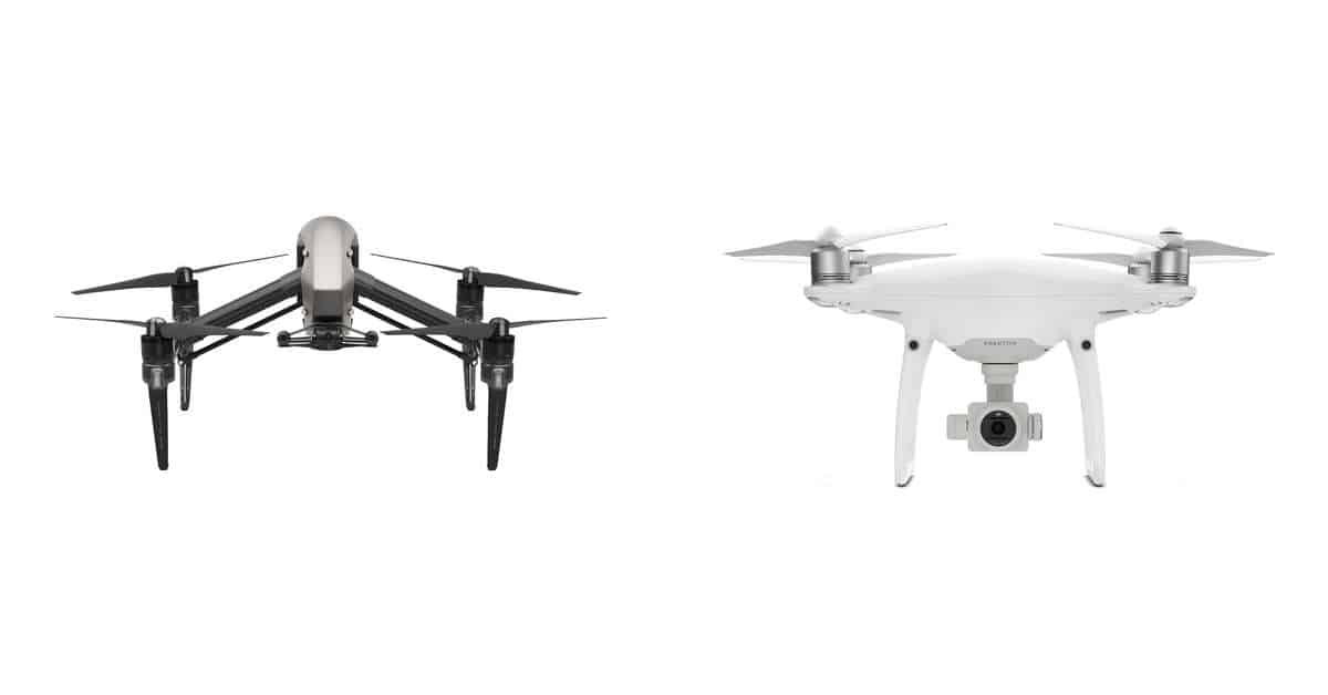 DJI Announce the 5.2K Inspire 2, Phantom 4 Pro and new Camera Units