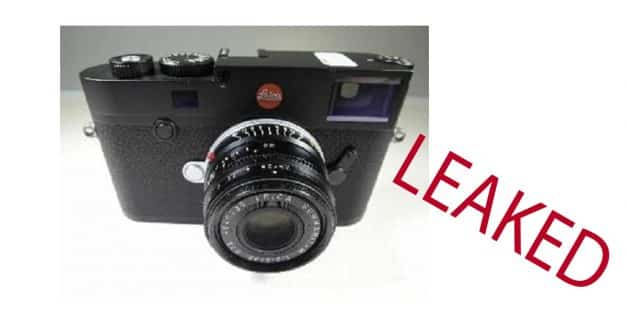 Leica M10 Photos Leaked!