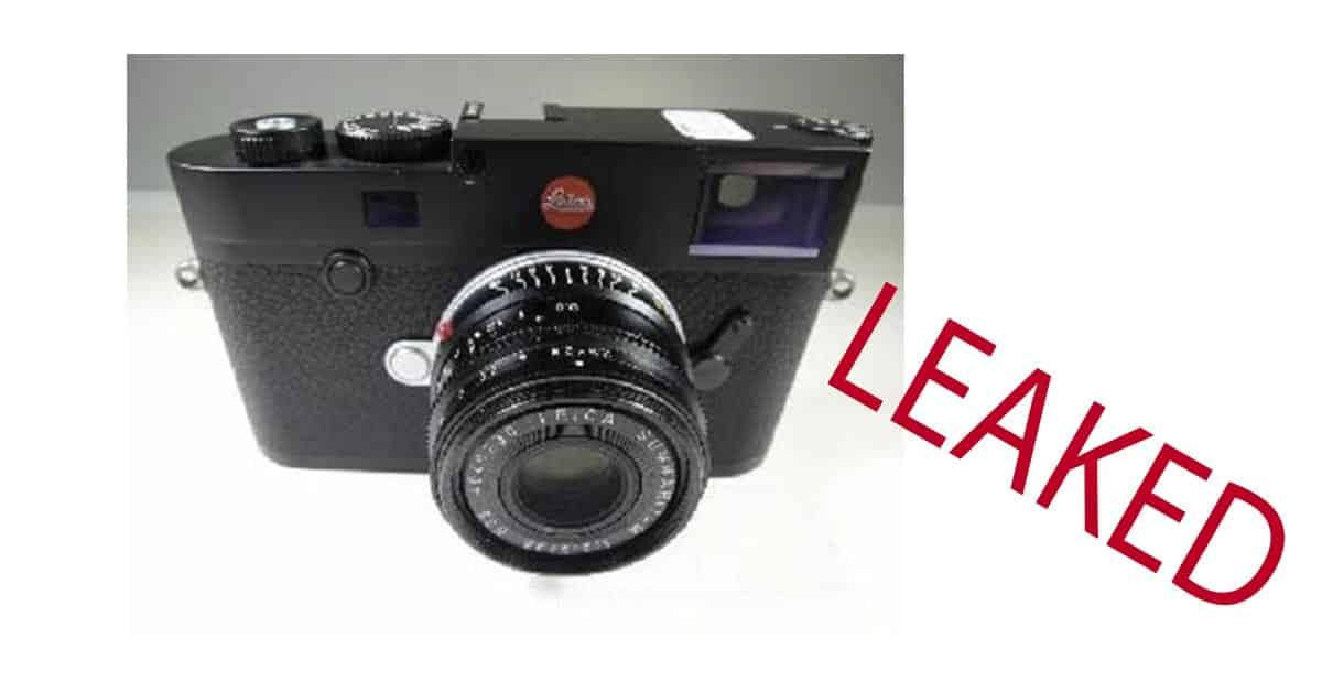 Leica M10 Photos Leaked!