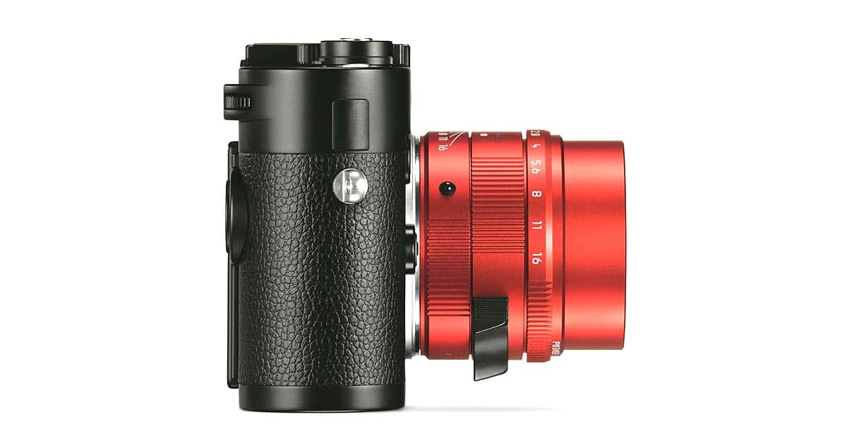 Leica Unveils Limited Edition Red Anodized APO-Summicron 50mm