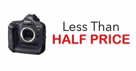 Canon EOS-1D C Only $3999