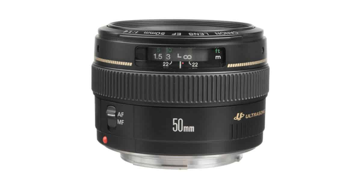 Canon Testing Two EF 50mm L Lenses