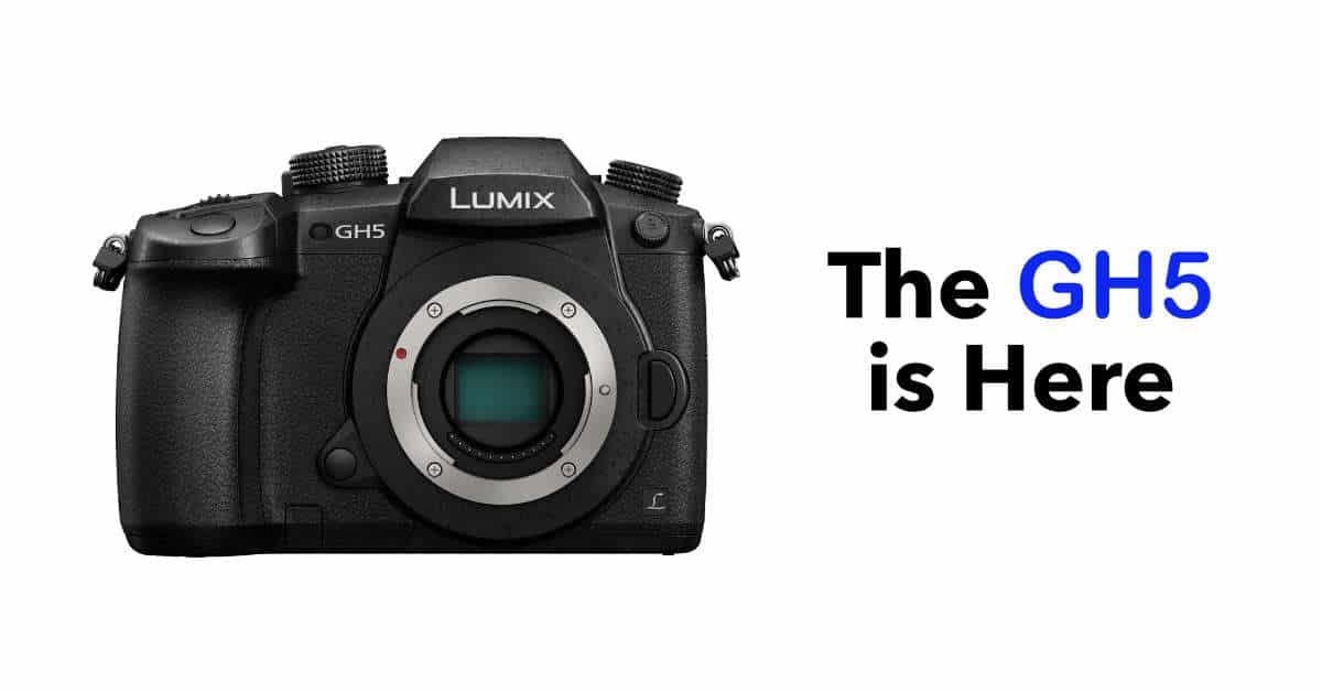 Panasonic Officially Unveil The Lumix Dmc Gh5