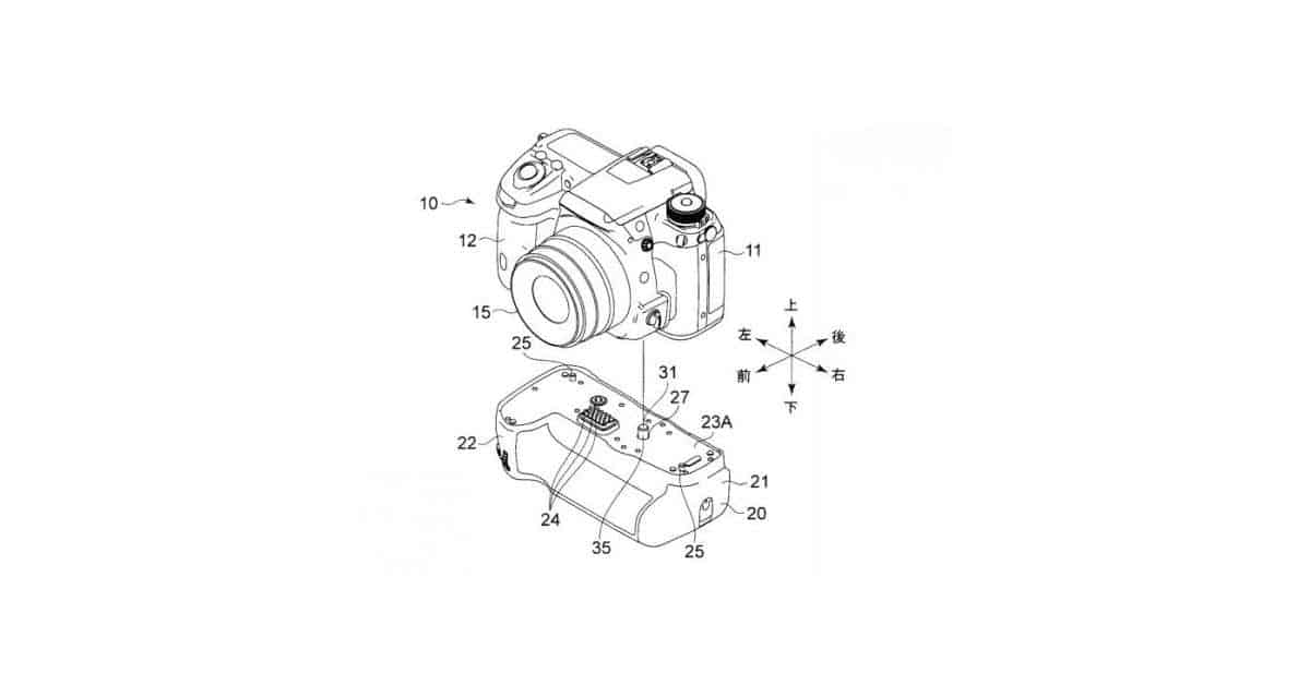 Does This Patent Show the Grip for the Mysterious Pentax KP?