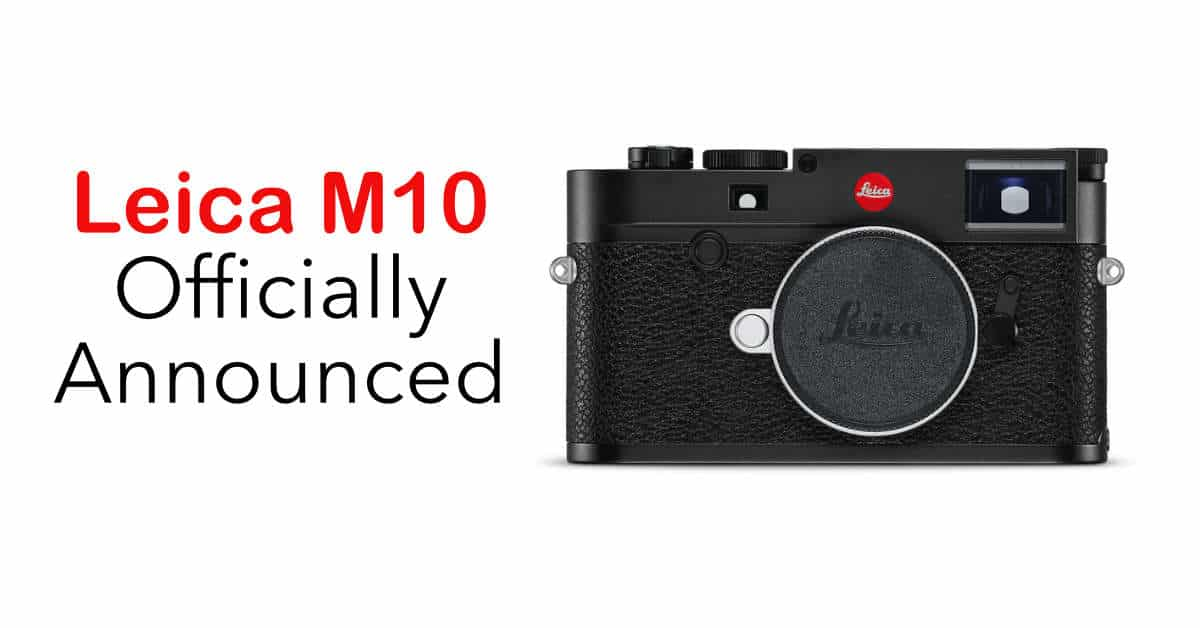 Leica Announce the M10