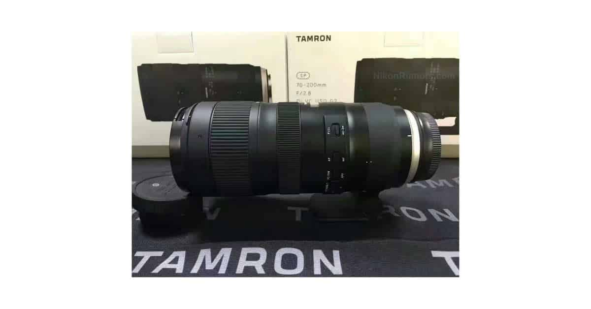 tamron sp 70 200mm f 2 8 di vc usd g2 coming at cp. Black Bedroom Furniture Sets. Home Design Ideas