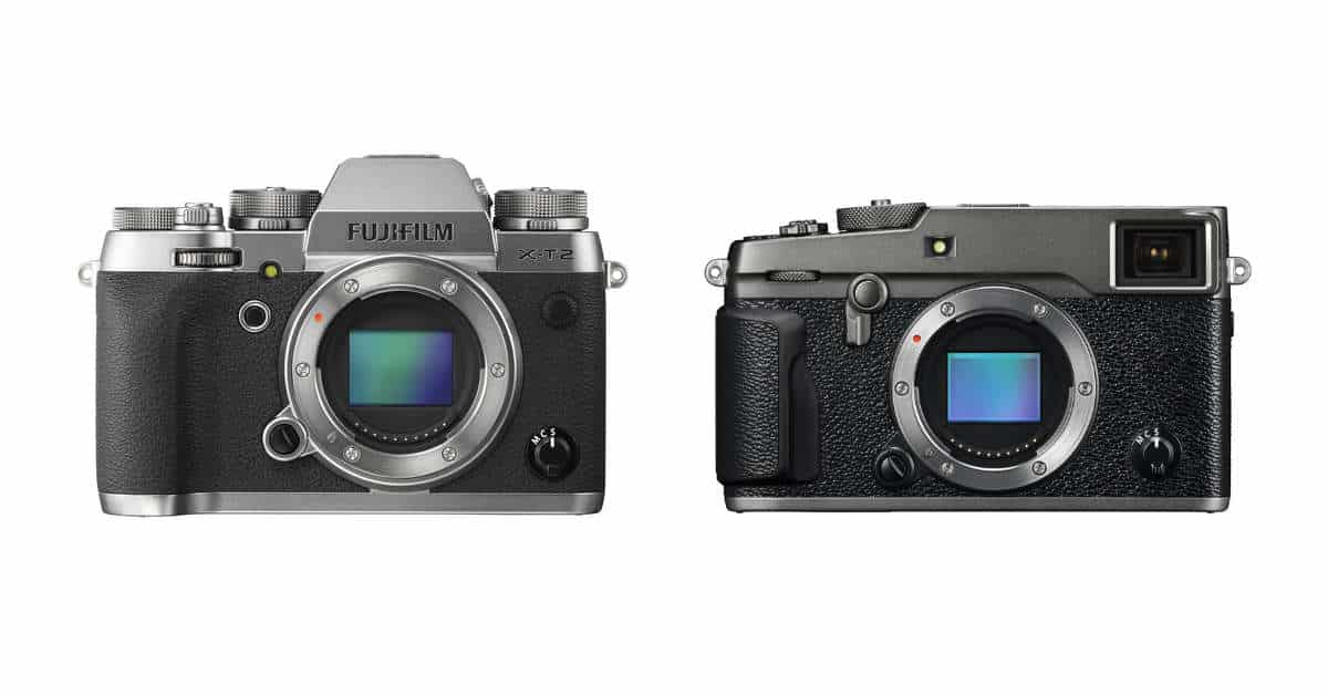 Fuji Announces X-Pro2 and X-T2 Graphite Editions