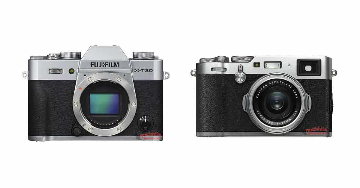 Press Images of X100F and X-T20 Leaked!