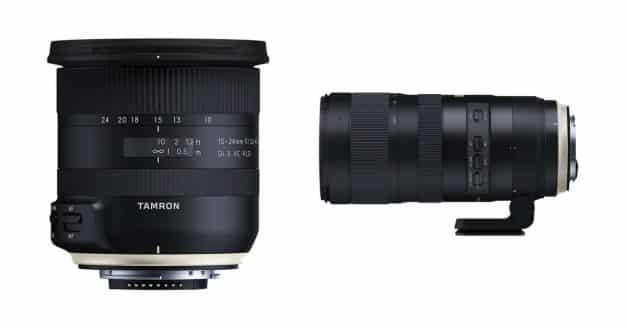 Tamron Announces SP 70-200mm f/2.8 Di VC USD G2 and Tamron 10-24mm f/3.5-4.5 Di II VC HLD