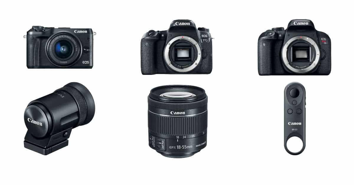 EOS M6 Pre-Orders are LIVE, All the new Canon Pre-Orders RIGHT HERE!